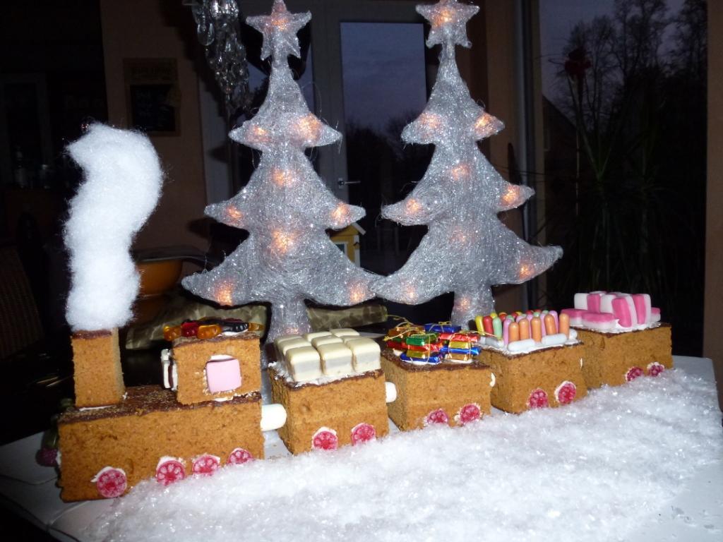 Weihnachtseisenbahn von Bettina