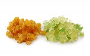 Citronat und Orangeat - Backzutaten