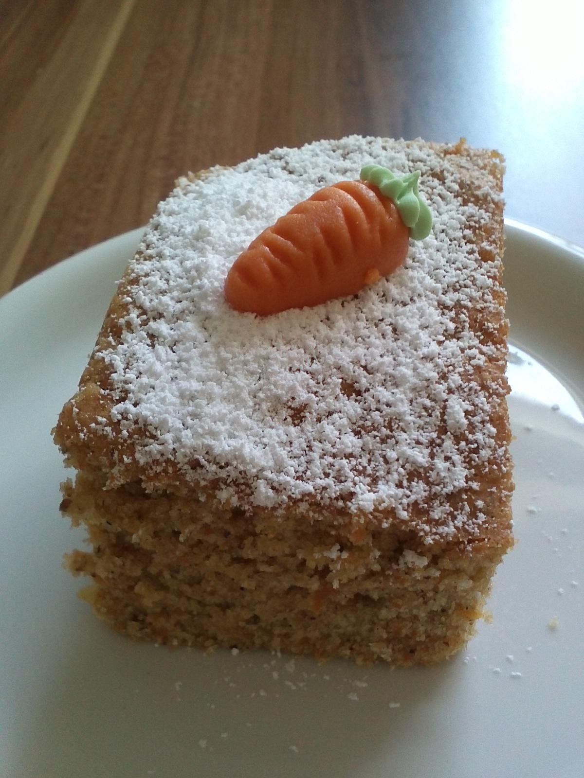 Rübli-kuchen nach türkischer Art