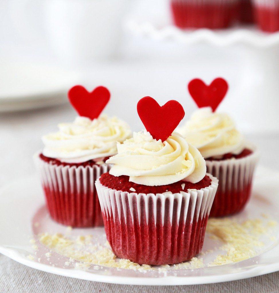 Red Velvet Valentine Cupcakes Meine Backwelt