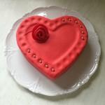 So sieht mein Kuchen aus