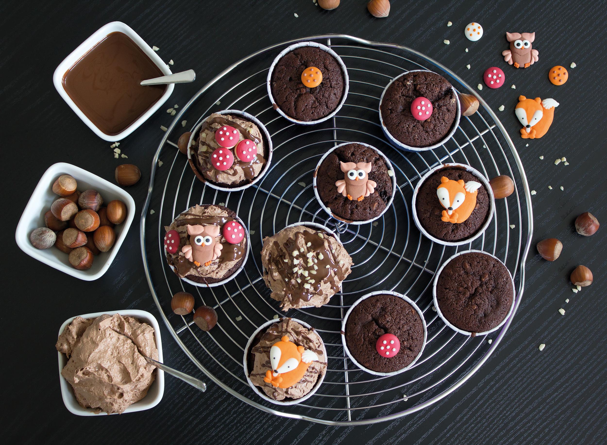 Herbst-Cupcakes