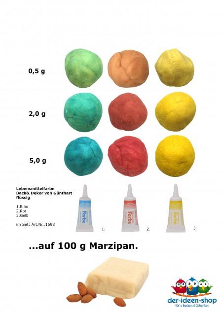 Mit Lebensmittelfarben einfärben | der-ideen-shop.de