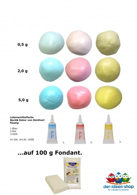 Mit Lebensmittelfarben einfärben   der-ideen-shop.de