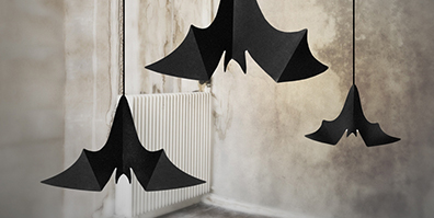 Fledermäuse aus Papier