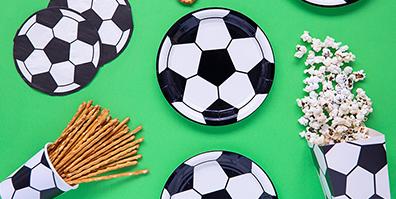 Fußball Pappteller