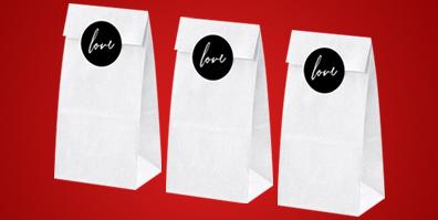 Geschenktüten aus Papier