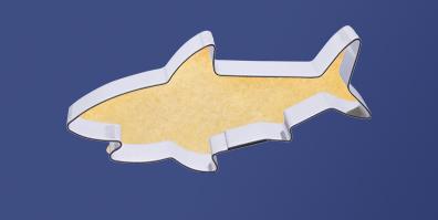 Keks Ausstecher Ausstechform Hai