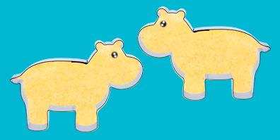 Keksausstech Form Ausstecher Nilpferd Hippo