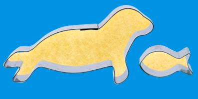 Seerobben Ausstecher für Kekse