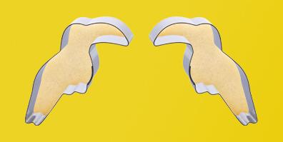 Keksausstecher Ausstecher Tukan