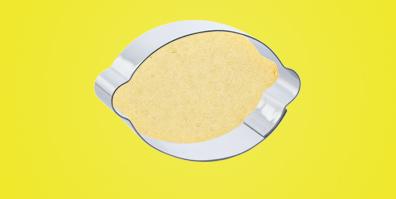 Keks Ausstecher Ausstechform Zitrone