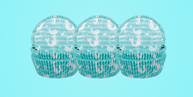 Muffinförmchen Papier Demmler Meerjungfrau Mermaid