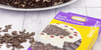 dunkle Raspel Schokolade Zartbitter
