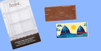schokoladenform segelboot