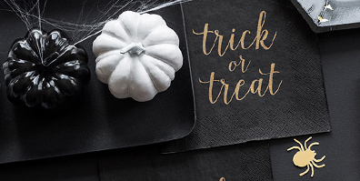 Halloween Servietten Trick or Treat