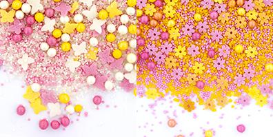 Streudeko Zucker Frühling Spinkles Mix