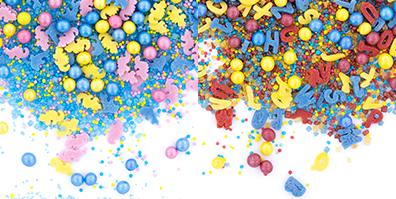 Sprinkles Streudekor bunt Party