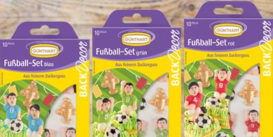 Fußball Set Zucker