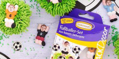 Zucker Fußball Set
