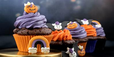 Zuckerfiguren Einhorn Halloween