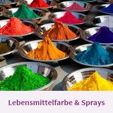 Lebensmittelfarbe & Sprays