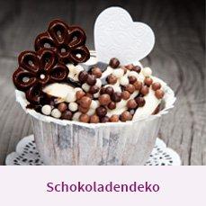 Schokoladendeko