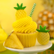 133 32 A Tropische Fruechte Zuckerfiguren Decora Früchte 6 Tropische Früchte Zuckerfiguren