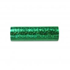 507 20 A Gruen Luftschlange 18 Rollen Partydeco Partydeko Hologramm Luftschlange grün