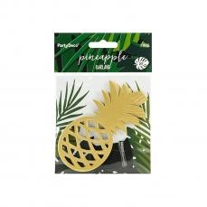 511 13 A Ananas Gold Girlande partydeco Backwelt Aloha 1 Ananas Girlande, gold