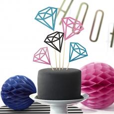 515 3 A Cake Topper Diamanten partydeco Cake Topper Cake Topper Diamanten