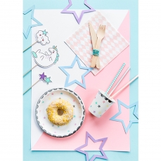 532 2 A partydeco Einstecker 1 Cake Topper Set Einhorn