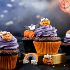 Muffinfoermchen Orange Muffin Cupcake 590 House of Marie Halloween Muffinförmchen, orange
