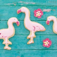 669 287 Flamingo Aloha Keks Ausstecher Metall Cutter Sweet Backwelt Aloha 1 Keks - Ausstecher Flamingo