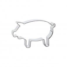 669 296 A Keks Ausstecher Schwein Edelstahl Der-Ideen-Shop Backwelt Bauernhof 1 Keks - Ausstecher Schwein