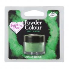 733 8 Rainbow Dust Puder Lebensmittelfarben Lebensmittelfarbe Puder dunkelgrün / Holly Green