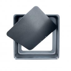 865 3 A Backform Quadrat KitchenCraft KitchenCraft 1 quadratische Backform 15 cm aus Karbonstahl mit herausnehmbaren Boden