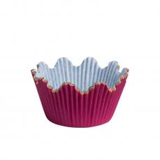 DEM 302 A Kronen Muffinfoermchen Bunt Sortiert Demmler Muffinförmchen 48 Kronenbackförmchen farbig sortiert, 5x 3,8cm