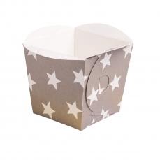 DEM 503 A Backformen Snackboxe Sterne Demmler Backformen 8 Mini Backformen Sterne sortiert, extra stabil