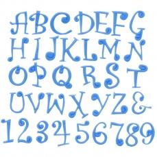 Grossbuchstaben Fmm Funky Ausstecher 239 7 A FMM Sugarcraft FMM Sugarcraft Funky Großbuchstaben & Nummern, Fmm