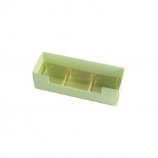 PRA 410 IDEE & WERK Geschenktüten & Verpackungen Pralinenstange 3er hellgrün strukturiert