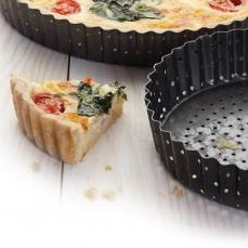 Quiche Backform Metall 848 2 KitchenCraft KitchenCraft 1 Kitchencraft Crusty Bake Quiche Backform