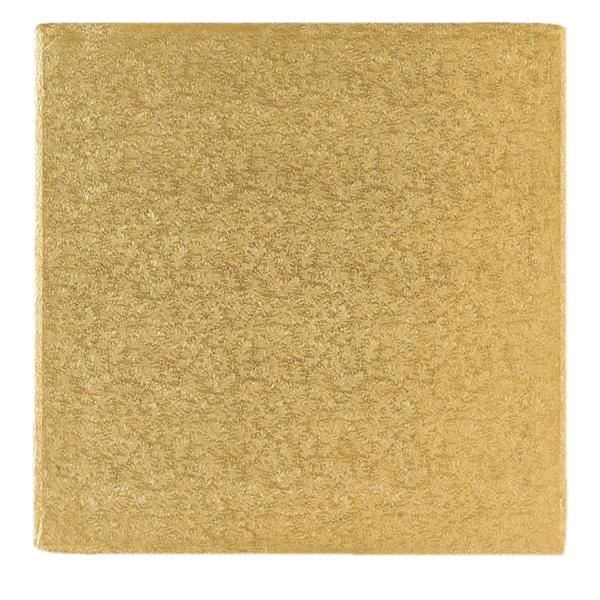 123 4 Tortenplatte Cakeboard Gold Quadratisch 40 Culpitt Tortenständer & Spitzen Tortenplatte / Cakeboard quadratisch 40,6cm, gold