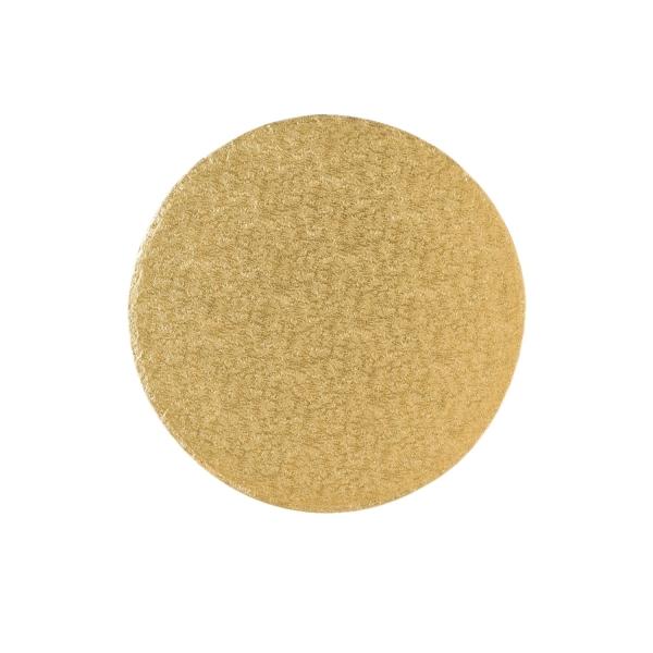 123 6 Runde Tortenplatte Cakeboard Gold 30 Culpitt Culpitt Tortenplatte / Cakeboard rund 30,4cm, gold