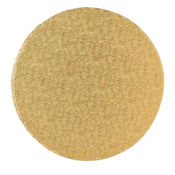 123 8 Runde Tortenplatte Cakeboards Gold 40 Culpitt Backhelfer Tortenplatte / Cakeboard rund 40,6cm, gold