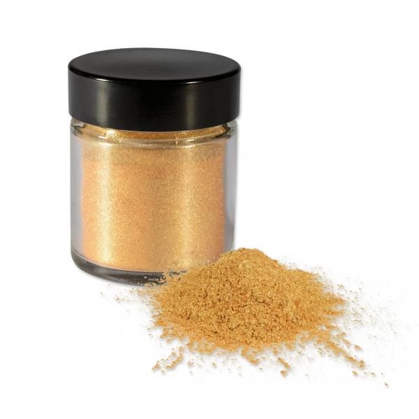 4913 Goldpuder Dose Tortendeko Günthart Puder Lebensmittelfarben Günthart Lebensmittelpuder gold, 7g