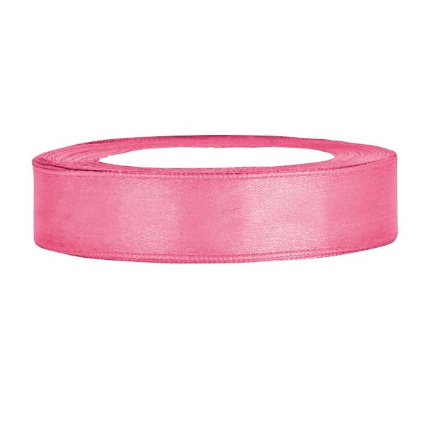 501 22(2) partydeco Backwelt Prinzessin Satinband rosa B:12mm, L:25msatinband-geschenkband-dekoband-schleifen-Rosa