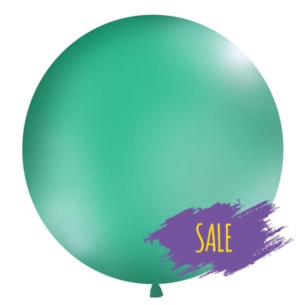 506 17Sale partydeco Luftballons 1 Luftballon, groß, waldgrünRiesen-Luftballon-Helium-Ballon-Balloons-Luftbalon-waldgruen