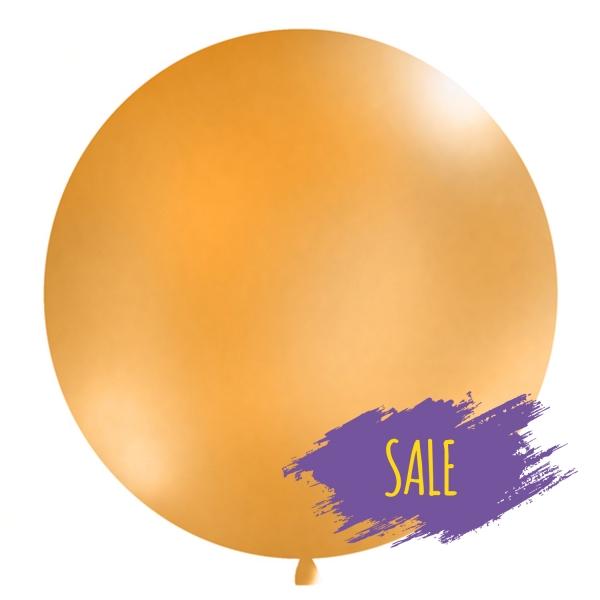 506 19 Sale(1) partydeco SALE 1 Luftballon, groß, orangeRiesen-Luftballon-Helium-Ballon-Balloons-Luftbalon-Orange