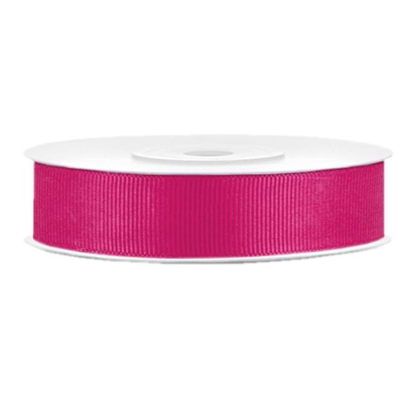 510 5 Ripsband Pink Basteln Dekorieren partydeco Partydeco.pl Ripsband pink B:15mm / L: 25m